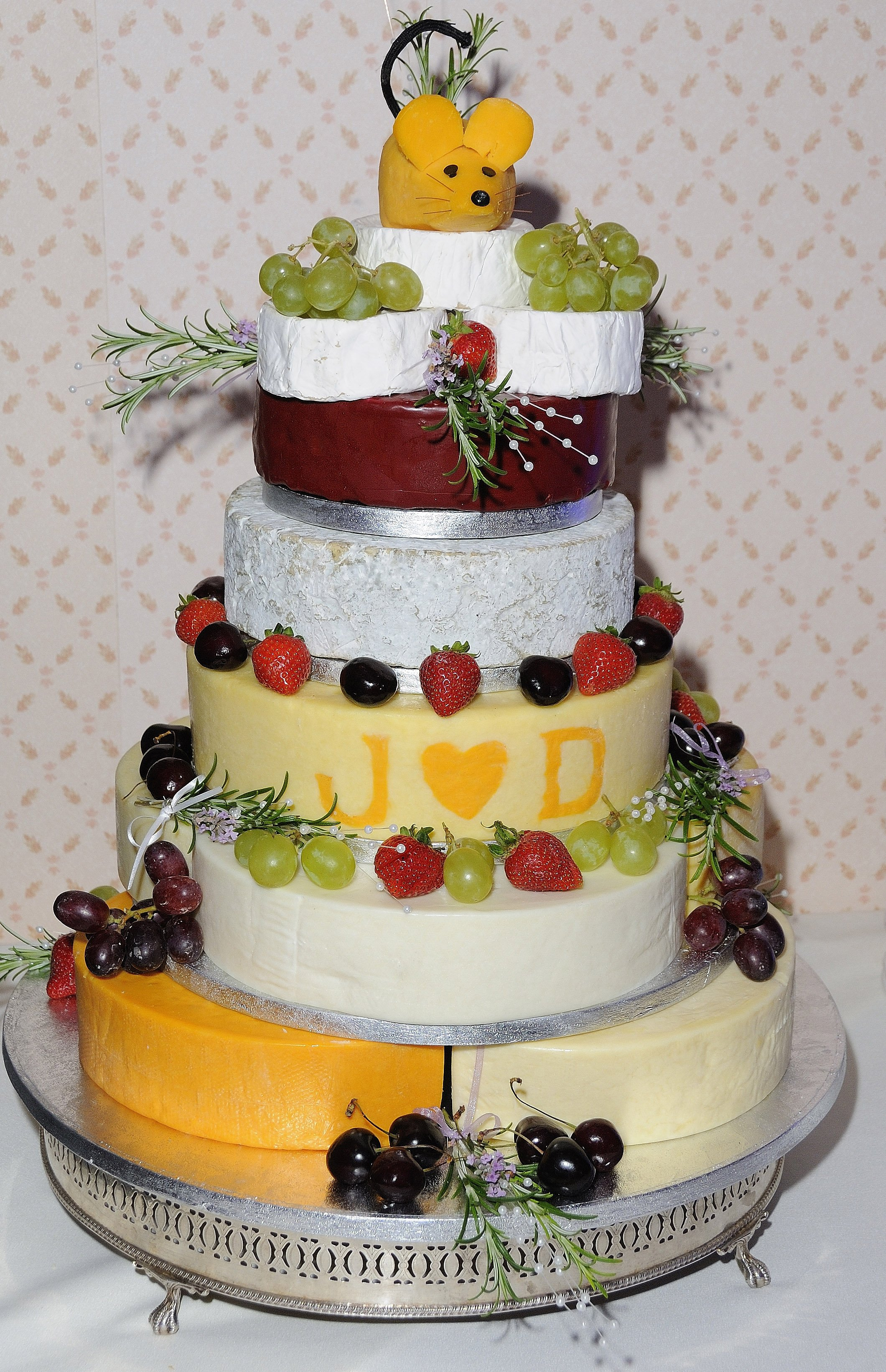 Cheese Tower Wedding Cakes Wedding Fairs North East