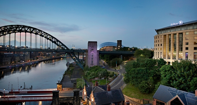 Hilton Tyne Bridge Twilight-Wedding Show