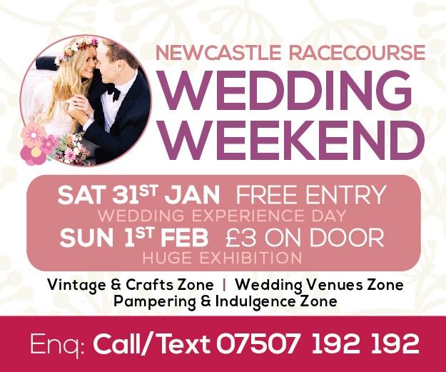 Newcastle Racecourse Wedding Weekend