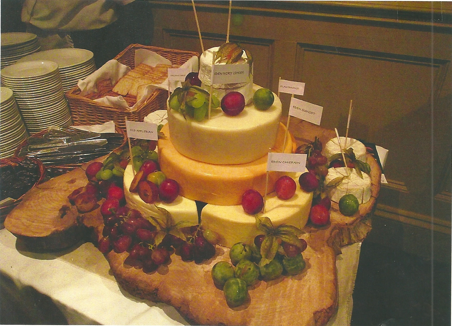 build your own cheese wedding cake cheese tower wedding cakes wedding fairs east 12215